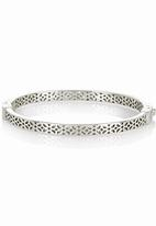Fossil Jewellery - Diamante Bangle Silver
