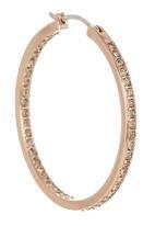 Fossil Jewellery - Hoop Earrings Rose gold