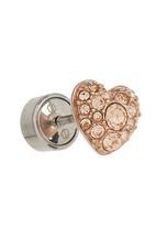 Fossil Jewellery - Heart Shape Earrings Rose gold