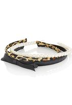 chic - Set of 3 Alice Bands Multi-colour