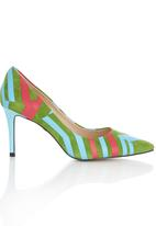 Sam Star - Leather Court Shoes Multi-colour