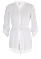 edit - Longer Length Shirt White