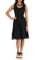 Ilan - Helena Anglaise Dress Black