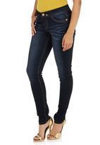 SOVIET - Phuket Skinny Jeans Dark Blue