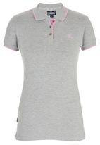 Tokyo Laundry - Harley Collared Top Pale Grey