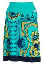 OLKA POLKA - Mzanzi Skirt Turquoise