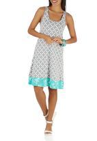 Sway - Martina Dress Mid Grey