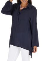 OLKA POLKA - Stella Shirt Navy
