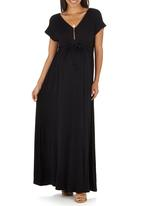 Me-a-mama - Ravella Dress Black