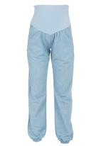 Me-a-mama - Chill Pants Pale Blue