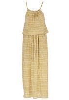 Sitting Pretty - Lagos Maxi Dress Mid Brown