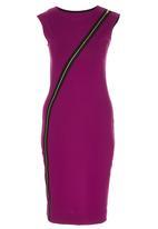 TART - Zip Dress Magenta