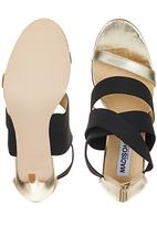 Madison® - Elastic Cross Over Heels Gold