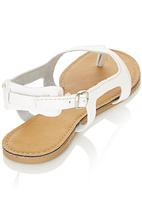That's it - Cut Out Sandals White