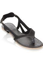 That's it - Cut Out Sandals Black