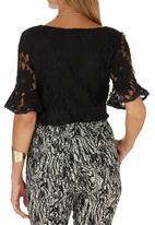 Suzanne Betro - Lace Blouse Black
