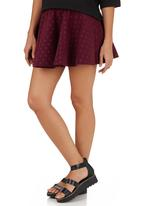 Suzanne Betro - Skirt Red