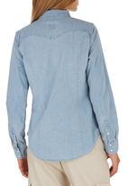 Levi's® - Light Wash Denim Shirt Pale Blue