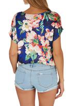 Suzanne Betro - Floral Blouse Multi-colour