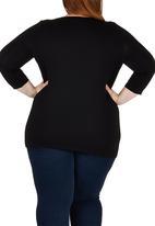 edit - Cowl T-shirt Black