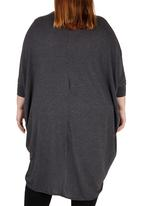 STYLE REPUBLIC - Cocoon Lightweight Knit Mid Grey