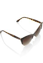 You & I - Cat-eye Sunglasses Animal Print