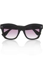 You & I - Shinny Cateye Sunglasses Black