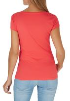 GUESS - Guess Tee Coral