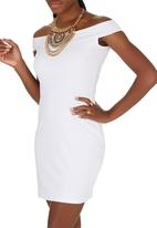 c(inch) - Bodycon Dress White
