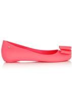 Dolce Vita - Jelly Pumps with Bow Detail Coral