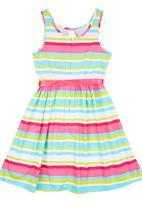 POP CANDY - Stripe Dress Multi-colour