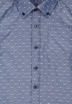 Retro Fire - Boys Dotty Shirt Grey