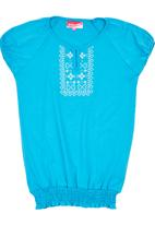 POP CANDY - Girls Top Turquoise