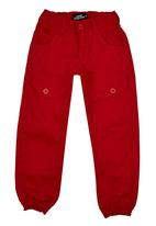 POP CANDY - Twill Jogger Red