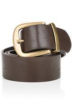 Fred Tsuya - Basic Belt Dark Brown