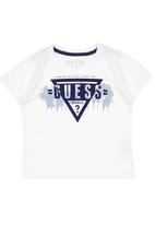 GUESS - Logo Print T-Shirt White