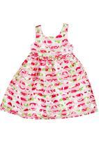 POP CANDY - Floral Chiffon Dress Multi-colour