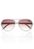 Vans - Basic Aviator Sunglasses White