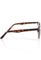 Vans - Bottomless Frame Sunglasses Brown/Black