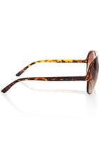 Vans - Basic Aviator Sunglasses Dark Brown