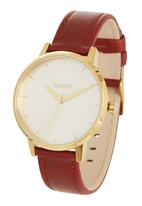 Nixon - Kensington Leather Gold