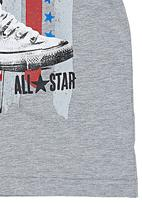 Converse - Shoe Flag T-shirt Grey