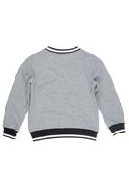 Converse - Rib Crew-neck Sweater Grey