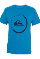 Quiksilver - Everyday T-shirt Mid Blue Mid Blue