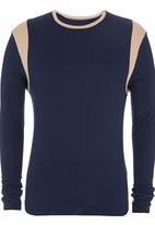 edited - Pullover Sweater Navy