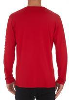 Quiksilver - Mountain Wave T-shirt Red