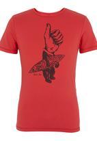 Blend - Printed Tee Red Red