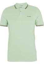 Ben Sherman - Tipped Golfer Light Green Light Green