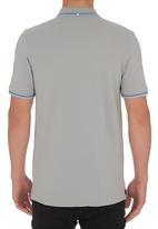 Ben Sherman - Tipped Golfer Pale Grey Pale Grey