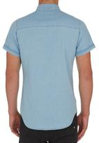 S.P.C.C. - Denim wash shirt mid Blue